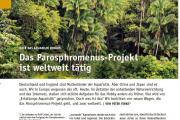 Das parosphromenus-projekt ist weltweit tätig Datz - Peter  Finke